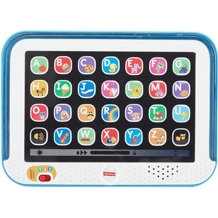 Fisher-Price Laugh & Learn Smart Stages Tablet, Blue](Fisher Price Learning Toys)