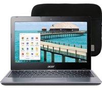 Manufacturer Refurbished Acer Chromebook - 11.6-Inch Touchscreen, 1.40GHz, 4GB RAM, 16GB SSD, HDMI Port