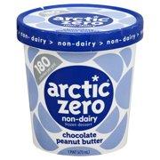 Arctic Zero Chocolate Peanut Butter Creamy Frozen Dessert, 1 pt