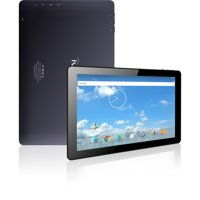 "iView 10.1"" Tablet PC, Android 7.1, Quad Core Processor, 1GB Memory, 16GB Storage, Front Facing and Rear Camera, Black"