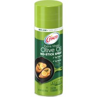 (2 Pack) Crisco Olive Oil No-Stick Cooking Spray, 5-Ounce