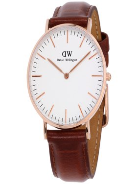 Women's Classic St. Mawes 0507DW Brown Leather Quartz Watch