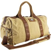 c207933450b3 Canyon Outback Urban Edge Mason 21-inch Canvas and Leather Duffel Bag