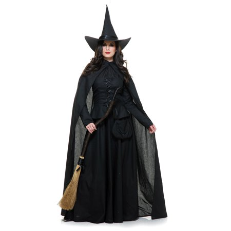Halloween Wicked Witch Adult Costume - Wicked Halloween Costumes Uk