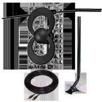 Antennas Direct C2-J30-V ClearStream 2 Complete Long-Range UHF/VHF Antenna