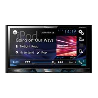 """Pioneer AVH-X490BS 7"""" Double-DIN In-Dash DVD Receiver with Bluetooth and SiriusXM Ready"""