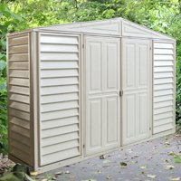 Duramax Building Products 10.5 x 3 ft. SidePro Storage Shed with Foundation