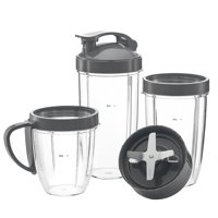 Preferred Parts, ULTIMATE NutriBullet Cups & Blade Replacement Set   7-Piece Set of NutriBullet Replacement Parts