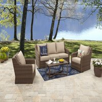 Better Homes & Gardens Hawthorne Park 4pc Sofa Conversation Set