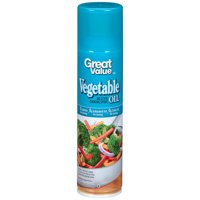 (3 Pack) Great Value Original Cooking Spray, 8 ounces