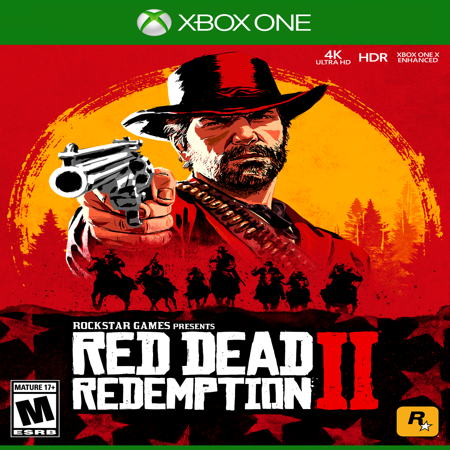 Red Dead Redemption 2, Rockstar Games, Xbox One, (Atari Flashback Classics Volume 1 Xbox One)