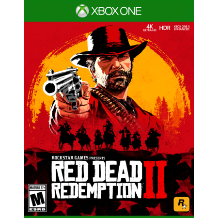 Red Dead Redemption 2, Rockstar Games, Xbox One, (Best Games To Play On Xbox One)
