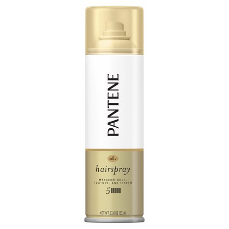 Pantene Pro-V Level 5 Maximum Hold Hairspray for Maximum Hold, Texture and Finish, 11