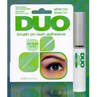 Duo Striplash Brush On Adhesive, Clear, 0.18 oz