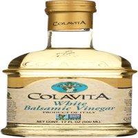 (2 Pack) Colavita White Balsamic Vinegar - 17 Fl oz.
