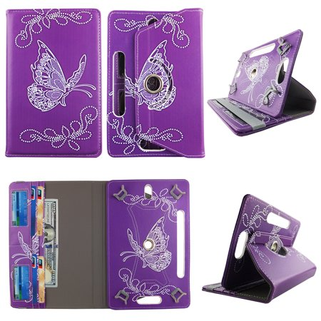 - Butterfly Purple tablet case 10 inch for Dragon Touch 10