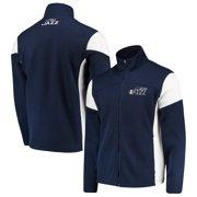 d14c2e37d Utah Jazz G-III Sports by Carl Banks Halftime Full-Zip Jacket - Navy