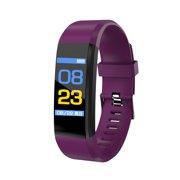 ID115plus Smart Bracelet Smart Band Blood Pressure Heart Rate Monitor Fitness Tracker Smart Watch IP67 Waterproof