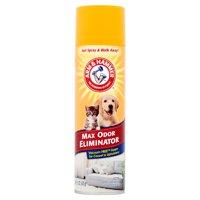 Arm & Hammer Max Odor Eliminator, Vacuum Free Foam for Carpet & Upholstery, 15 Oz.
