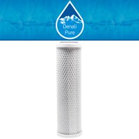 Replacement Purenex SS-1 Activated Carbon Block Filter - Universal 10 inch Filter for Purenex One Stage Chrome Counter-Top Drinking Water Filter - Denali Pure Brand