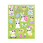 ace2a9c89336c Way To Celebrate Googly-Eyed Easter Bunny Stickers