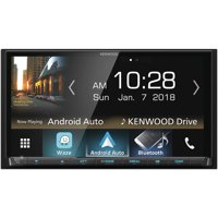 """Kenwood DMX7705S 6.95"""" Double-Din In-Dash Digital Media Receiver With Bluetooth, Apple Carplay, Android Auto & SiriusXM Ready"""
