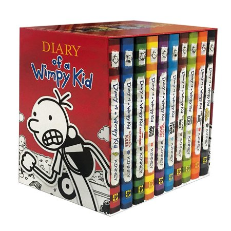 Diary of a Wimpy Kid Box of Books (Books 1-10)](Children's Counting Books)