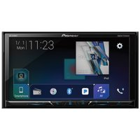 """Pioneer AVH-2400NEX 7"""" Double-DIN In-Dash NEX DVD Receiver With Motorized Display, Bluetooth, Apple Carplay, Android Auto & SiriusXM Ready"""