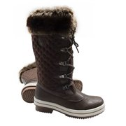 ArcticShield Women s Melissa Warm Waterproof Insulated Fur Collar Durable Winter  Snow Boots 204bd655d7