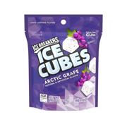 Ice Breakers, Ice Cubes, Arctic Grape Gum, 8.11 Oz