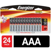 Energizer MAX Alkaline, AAA Batteries, 24 Pack