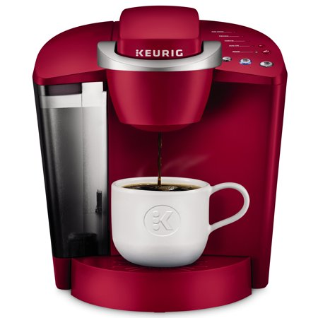 - Keurig K-Classic Single Serve K-Cup Pod Coffee Maker, Rhubarb