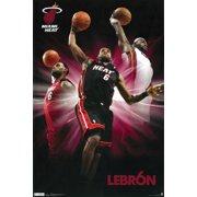 7ac9edd40da Lebron Poster Amazing James Shot New 24x36