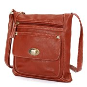 c604547d5c6b Fashion Shoulder Bag Handbag Crossbody Messenger PU Leather Small Zipper  For Women