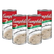 (3 Pack) Campbell's Condensed Family Size 98% Fat Free Cream of Mushroom Soup, 22.6 oz. Can