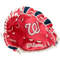 "Wilson A200 Washington Nationals 10"" Tee Ball Glove"