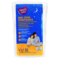 Parent's Choice Bed-time Underpants, L/XL 60-125 lbs, 12 count