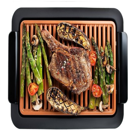 Gotham Steel Smokeless Electric Grill with Non-Stick (Dome Electric Grill)