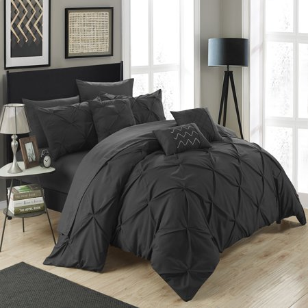 Chic Home Valentina 10 Piece Bed in a Bag Comforter Set ()