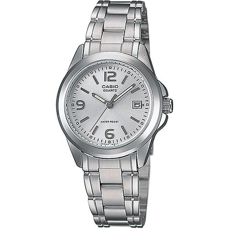 Beetle Dial Watch (Women's Silver Dial Watch, Stainless-Steel Bracelet )