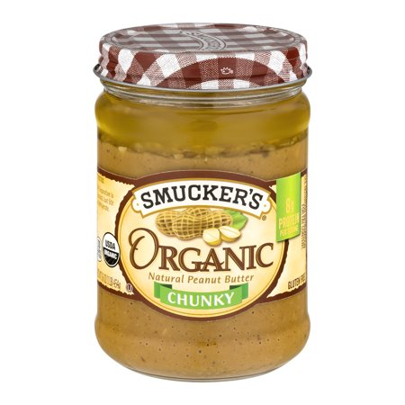Make Almond Butter - Smucker's Organic Chunky Peanut Butter, 16 oz