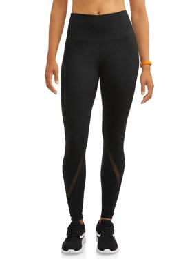 women's premium active high rise performance legging with mesh ankle