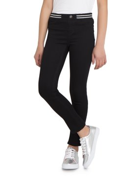 Rib Waist Skinny Jean (Little Girls & Big Girls)