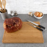 Extra Large Bamboo Cutting Board- Kitchen Prep by Classic Cuisine