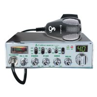 "Cobra Mobile CB Radio With Dynamike Gain Control And SWR Antenna Calibration And NightWatch"" Illuminated Display With Dimmer Control"