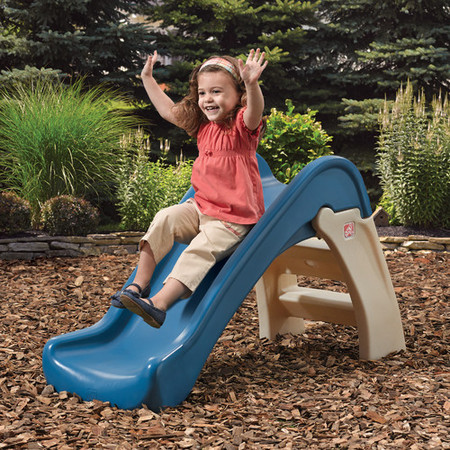 Panther Slide (Step2 Play & Fold Junior Slide with Large Steps for Toddlers)