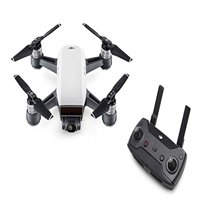 Dji Spark Drone Alpine White With Remote Control Combo
