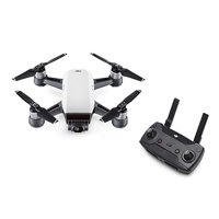 Dji Spark Drone Alpine White With Remote Control Combo