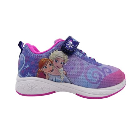 Frozen Toddler Girl's Athletic Shoe - Saddle Shoes For Girls