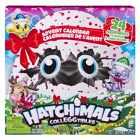 Hatchimals CollEGGtibles, Advent Calendar with Exclusive Characters and Paper Craft Accessories, for Ages 5 and Up